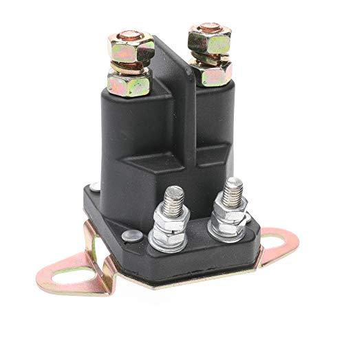 (DEF Starter Solenoid Replaces John Deere MIU12537, Starter Relay Motor fits John Deere X300 X304 X310 X320 X324 X360)