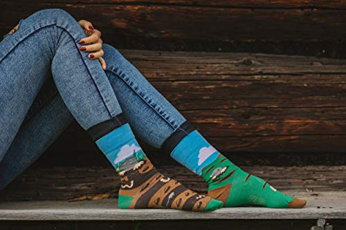 Per E Unisex Mole Spox Casual Calze Multicolori Colorate Sox Individualisti 6qXp0vWA