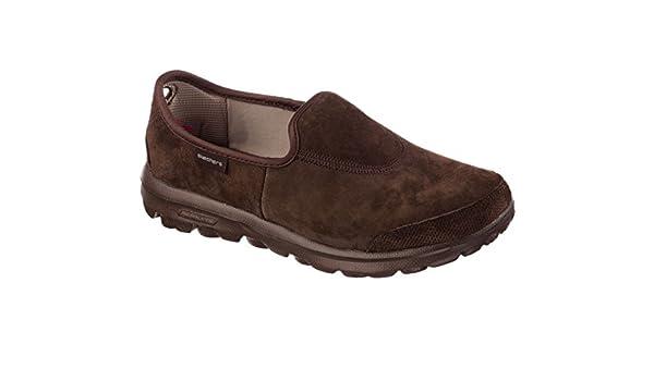 d3dce1bd8c941 Skechers Rendimiento GB Marcha Invierno Memory Foam Calzado de Senderismo  Slip-on  Amazon.es  Zapatos y complementos