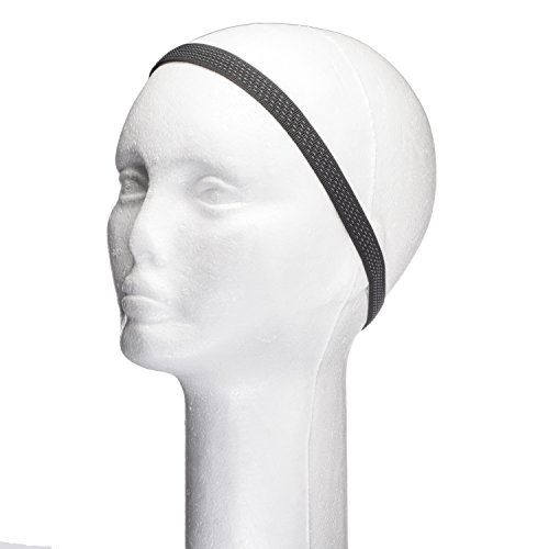 """Dini Bands Wig Grip to Hold Wig, Scarf, Hats in Place Without Slipping With Velcro Closure 1/2"""" (3 Pack)"""