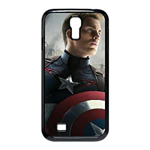 AKERCY Avengers Age of Ultron Captain America Phone Case For Samsung Galaxy S4 i9500 [Pattern-5]