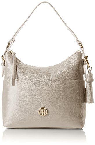 Tommy Hilfiger Purse for Women TH Summer of Love Hobo, Oatmeal by Tommy Hilfiger