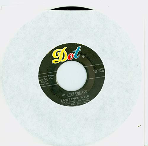 My Love For You | Riders In The Sky - Lawrence Welk, His Orchestra And Chorus (Dot Records 1961) Near-Mint (7 out of 10) - Vintage 45 RPM Vinyl Record