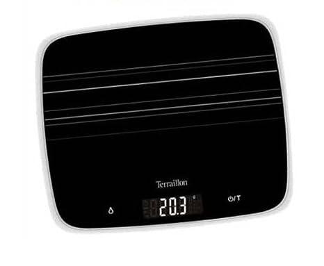 Terraillon 11305 - Báscula electrónica de cocina (1 g - 15 kg)