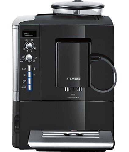 Siemens Siemens EQ.5 TE515209RW Super Fully Automatic Espresso Machine, Coffee Capuccino Latte Maker, OneTouch DoubleCup System, Black Siemens