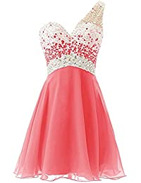 Womens Short Tulle Beading Homecoming Dresses 2018 Prom Party Gowns