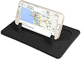 Daite Dashboard Car Phone Mount Holder Non-slip Silicone Pad Dash Mat Cell Phoner Holder for iPhone X/8/7/6/5 Plus tablet...