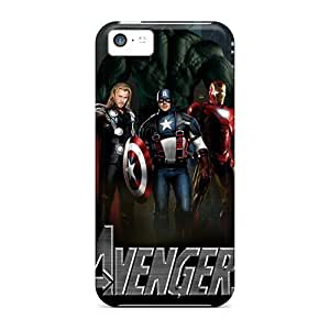 Iphone 5c Avengers Tpu Silicone Gel Case Cover. Fits Iphone 5c