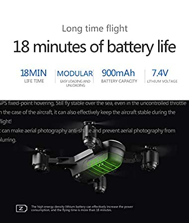Yezijin Unmanned Aerial Vehicle X12S 2.4Ghz 4CH Wide-Angle WiFi 720P Optical Flow Positioning RC Quadcopter