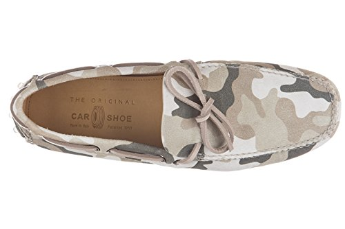 Car camoscio Shoe Uomo Car Verde Mocassini Shoe in rWq8YPOr6