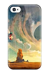 Hot Snap-on One Piece Animertgas D Ace Yoso Hard Cover Case/ Protective Case For Iphone 4/4s