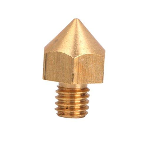 SODIAL(R) ?0.2 mm copper nozzle head, for 3 mm fil...