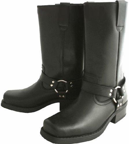 long leather biker cow boots et5Pxq