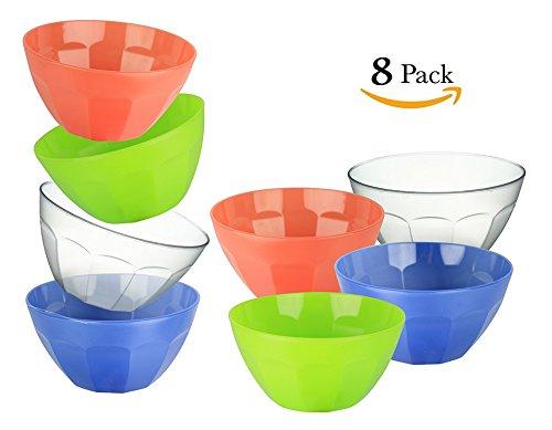 colored plastic bowls - 7