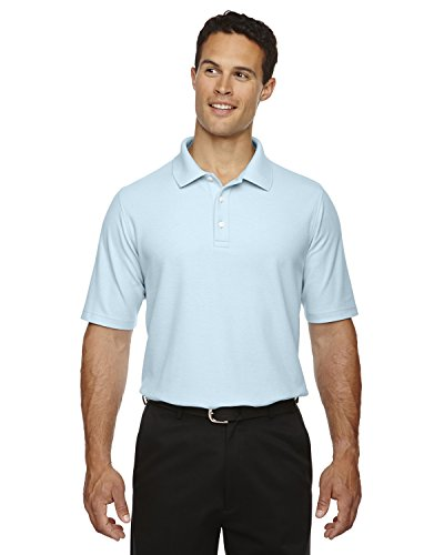 Devon & Jones Men's Drytec Performance Polo Shirt, CRYSTAL BLUE, XXXX-Large