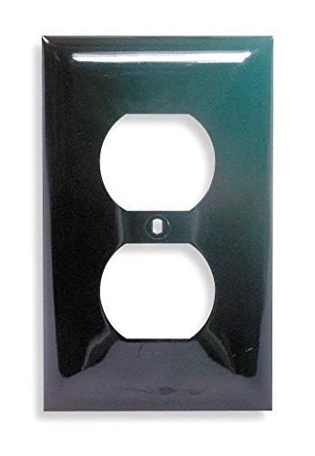 Duplex Hubbell Wiring Device (Duplex Wall Plate, 1 Gang, Brown)
