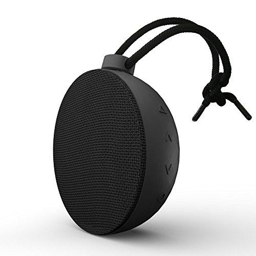 AlierGo Wireless Speaker, Portable Speaker, SoundAce Mini Outdoor Speaker IPX5 Waterproof Speaker/Splash Proof Shower Speaker 5W Enhanced Bass Outdoor Party Speaker 10-Hour Playtime Rechargeable