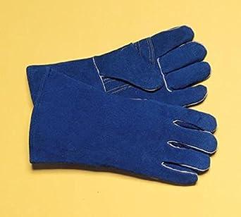 """Radnor guante soldadores grande azul 14 """"premium lado algodón/de espuma aislante de"""