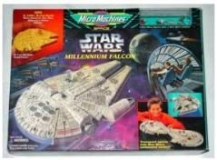 Star Wars Micro Machines PRINCESS LEIA ORGANA Mask Figure Millennium Falcon #1