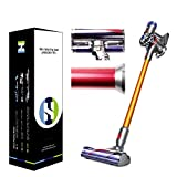 Healing Shield, Compatible with Dyson V8 Fluffy Pro Vacuum Cleaner Virtual Skin Matte Protective Film Set (V8 Fluffy Pro / 1 Pack)