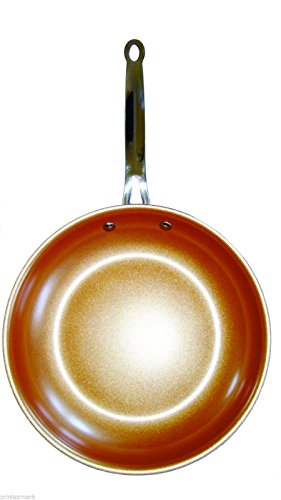 Non-Stick Copper Titanium Steel Frying Pan 10.5 inch Ceramic Induction:New by WW shop