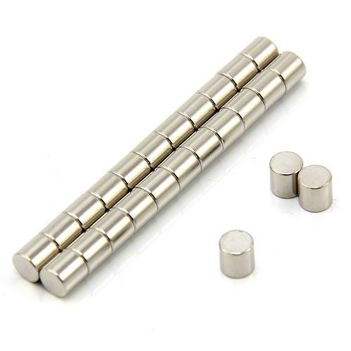 /ø 6 mm forza magnetica 1,3 kg ideali da impiegare in lavori di arte e artigianato spessore 6 mm Confezione da 25 dischi magnetici al neodimio N42 Magnet Expert Ltd