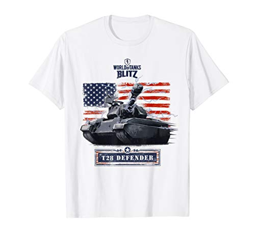 World of Tanks Blitz T28 Defender T-Shirt