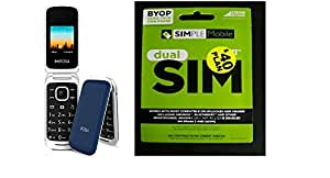 Phone & Sim - Dual Sim Lynx Plus A110 phone with a $40 preloaded Simple Mobile Plan ( Ready to Use )! Unlimited talk & Text with First month Free!!!