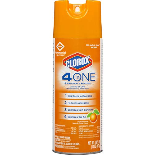 - Clorox COX31043 4 in 1 Disinfectant Sanitizer