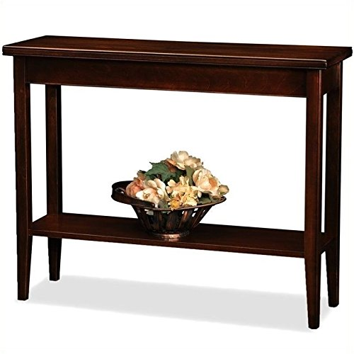 Cheap Bowery Hill Solid Wood Hall Stand in Chocolate Cherry