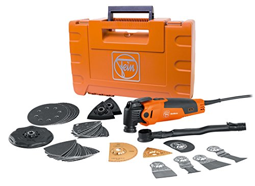 FEIN FMM350QSL MultiMaster Top StarlockPlus Oscillating Multi-Tool with snap-fit accessory change by Fein
