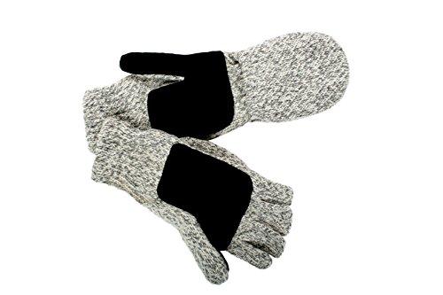 Tru Fit Convertible Wool Gloves