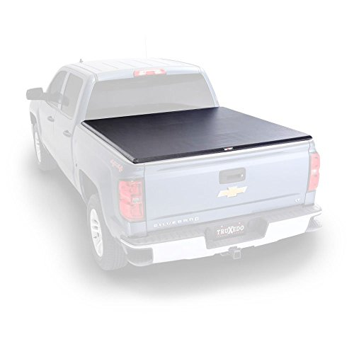 "TruXedo Lo Pro Soft Roll-up Truck Bed Tonneau Cover | 572001 | fits 15-19 GMC Sierra & Chevrolet Silverado 2500/3500 6'6"" Bed"