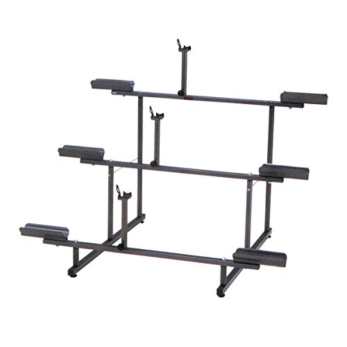 Minoura 971-3 Tier 3-Bike Display Stand, Grey by Minoura