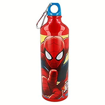 Stor Botella Aluminio 750 ML. Spiderman Red Webs