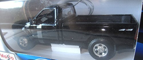 Maisto Special Edition 1999 Ford F-350 Super Duty Pickup Black (1:27)