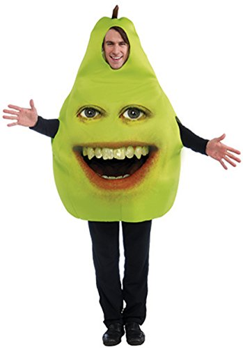 [Forum Annoying Orange Pear Adult Costume, Green, One Size] (Adult Pear Costumes)