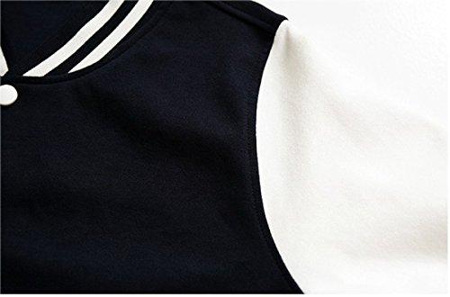 BTS Béisbol Chaqueta de Uniforme Chicos Bangtan Suga Jin Jimin Jung Kook Suéter Abrigo M Negro JIN