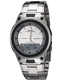 Reloj Casio Analógico para Hombres 46mm, pulsera de Acero Inoxidable