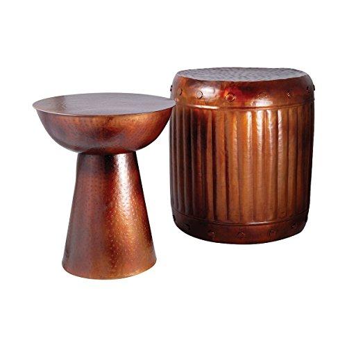 Pomeroy 951626 Truffle Set of 2 Table and Barrel Stool