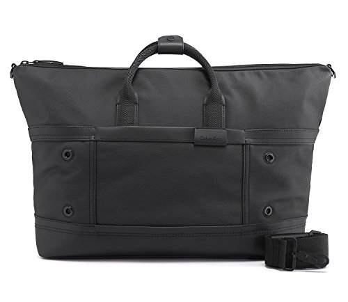 Calvin Klein Mens Ezra Weekender Carry On Luggage Travel Bag by Calvin Klein