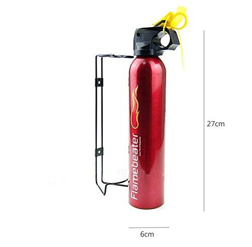 Caja de seguridad contra incendios esencial para todos. Extintor de polvo ABC de 600 g, manta ignífuga y kit de primeros auxilios con 42 unidades; ...