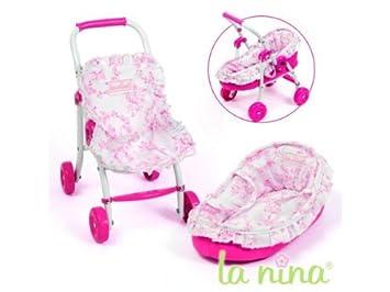 Amazon.es: Carrito de bebé + Capacho flores rosas Anita ...