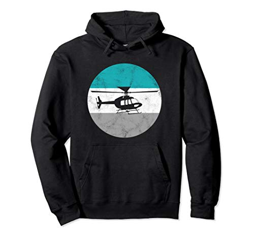 Helicopter Retro Gift For Men Women Boys & Girls Pullover - Retro Helicopter