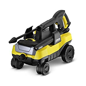 Karcher 1.601-990.0 K3 Follow-Me Electric Power Pressure Washer with 4 Rolling Wheels, 1800 PSI, 1.3 GPM