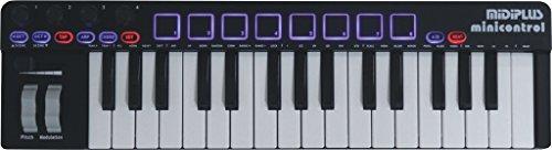 midiplus, 32-Key minicontrol USB MIDI Keyboard Controller