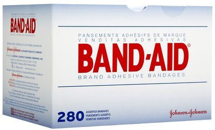 Band-Aid Variety ct Adhesive Bandages-280ct, Assorted Sizes (Quantity of 3)