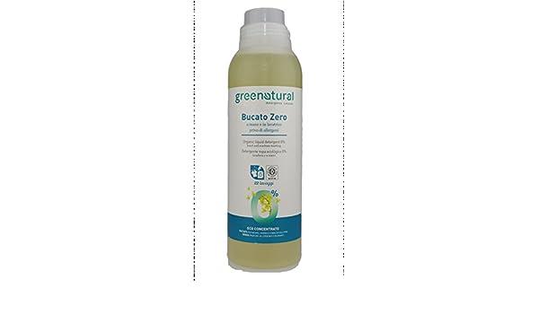 Green Natural Jabón Líquido colada Zero 1 litro a mano Lavadora ...