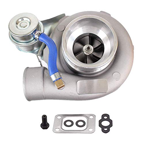 GT25 GT28 T25 T28 GT2871 GT2860 Turbo Fit for Nissan SR20 SR20DET 180sx, 0.64A/R 400BHP+ 5-Bolt Flange Turbocharger Water & Oil Cooled 1.8L-3.0L Engine &Gaskets