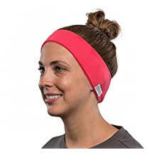 AcousticSheep SleepPhones Wireless Breeze Headband Headphones with Bluetooth (Pink) - One Size Fits Most
